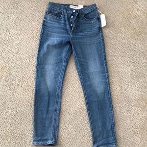 Aritzia Jeans - ARITZIA DENIM FORUM Yoko High Rise Slim Jean